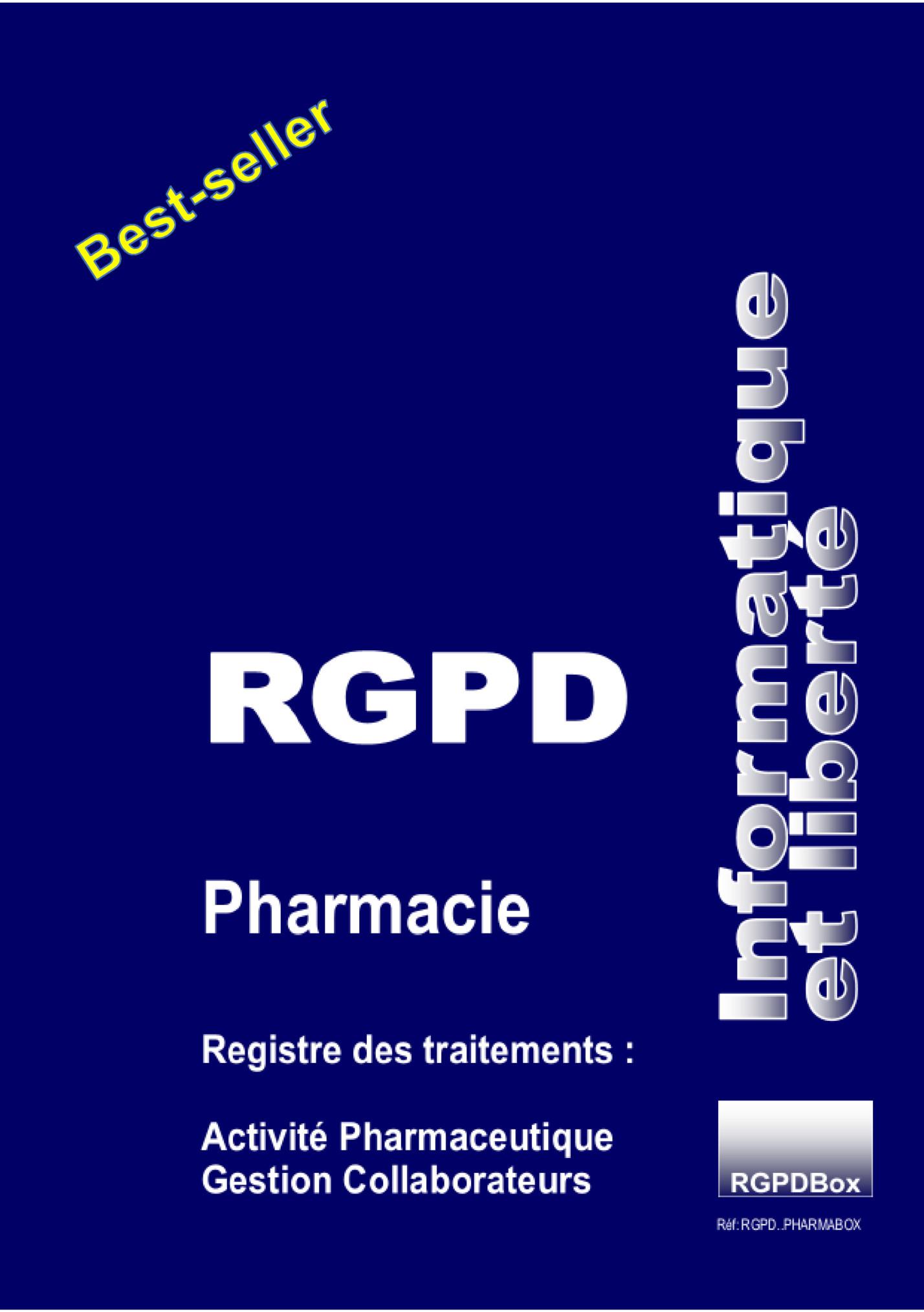 Registre RGPD Pharmacie Guillard Publications